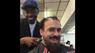 Amerika'da  Amerikan Trasi with Barber Karayne / Hair Cut with Ozkan Abi