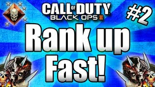 black ops 2 rank up fast tips and tricks call of duty bo2 multiplayer part 2