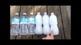 How-to Make A Water Bottle Freezer Pack Tutorial