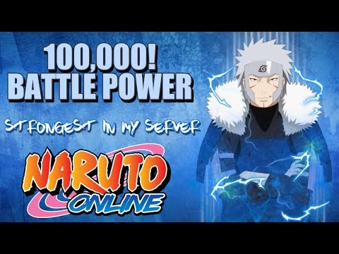 1ST 100K+ BATTLE POWER IN MY SERVER HAS APPEARED!?! | RANKED BATTLE | PLAYER PROFILE | NARUTO ONLINE