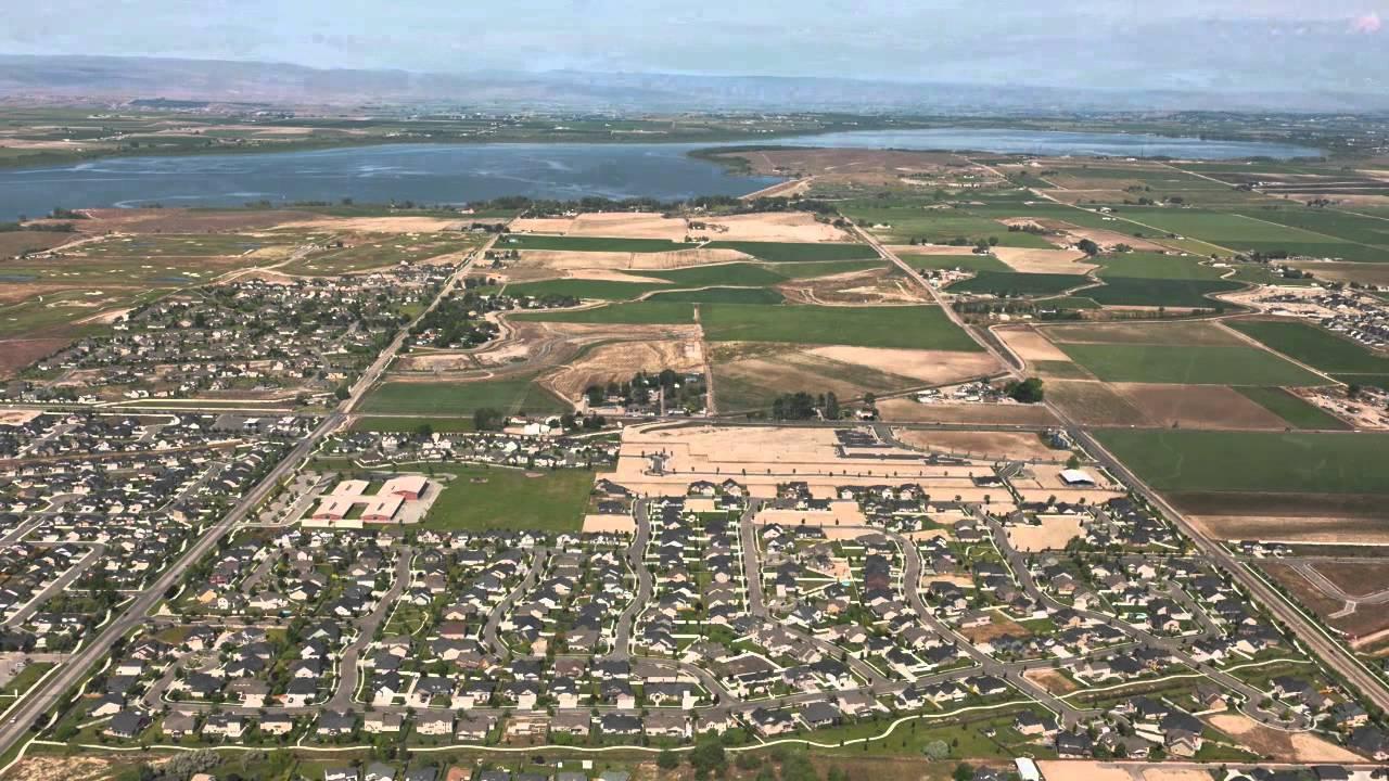 Aerial Nampa Idaho
