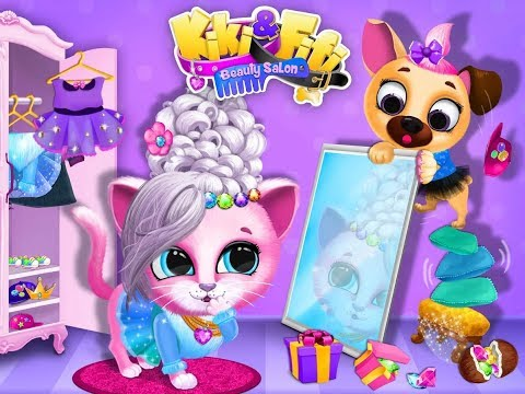 Kiki Fifi Pet Beauty Salon Games / Tutotoons / Children / Baby / Android Gameplay Video