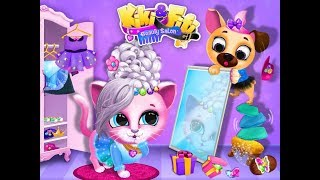 Kiki Fifi Pet Beauty Salon Games / Tutotoons / Children / Baby / Android Gameplay Video