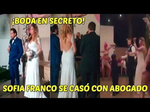 Sofia Franco Y Su Esposo