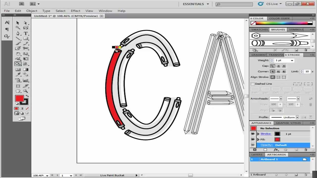 How To Use Live Paint In Illustrator