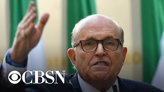 Rudy Giuliani speaks out on newly released House documents from indicted associate Lev Parnas