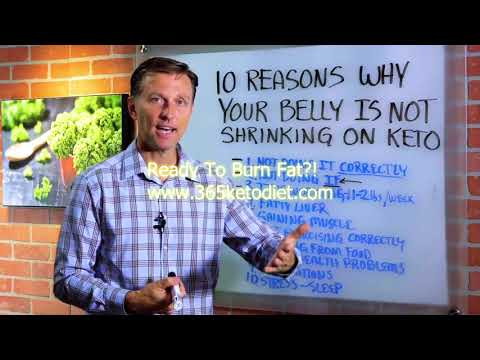 keto-diet-guidelines---10-reasons-why-your-belly-is-not-shrinking-on-keto-ketogenic-diet