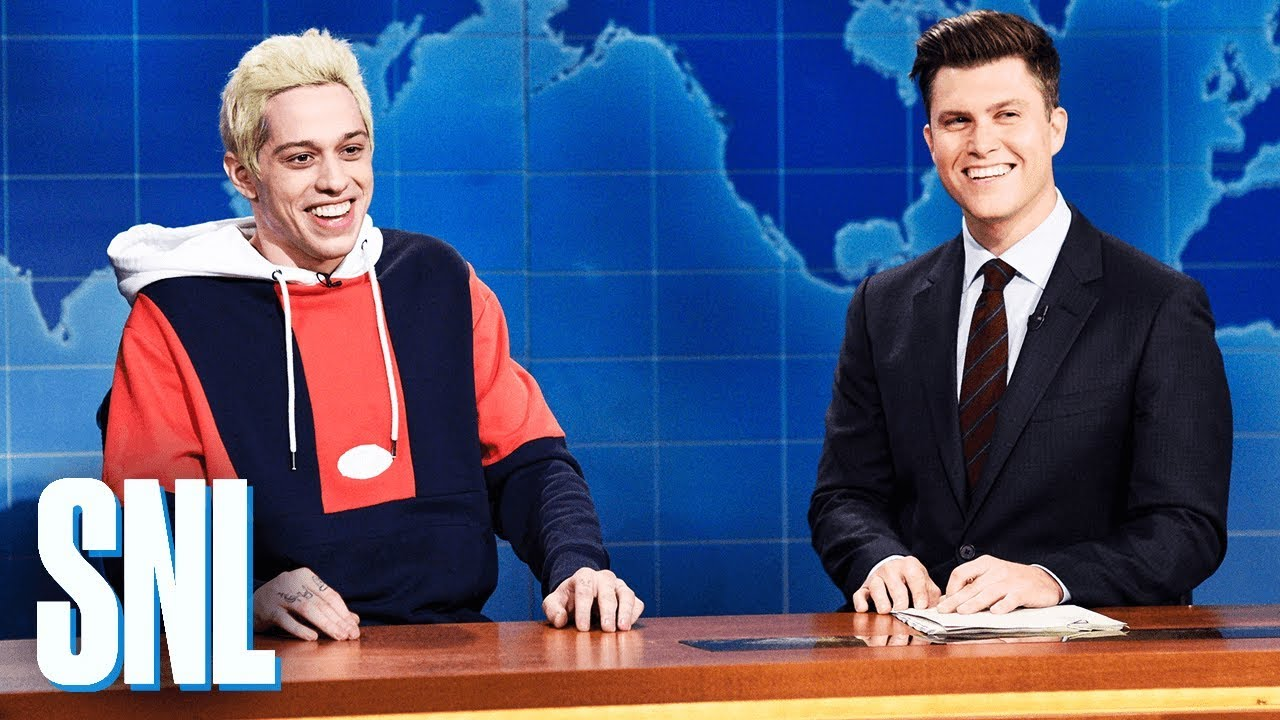 Weekend Update: Pete Davidson on His Engagement to Ariana Grande - SNL