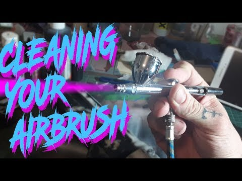 How to clean your airbrush