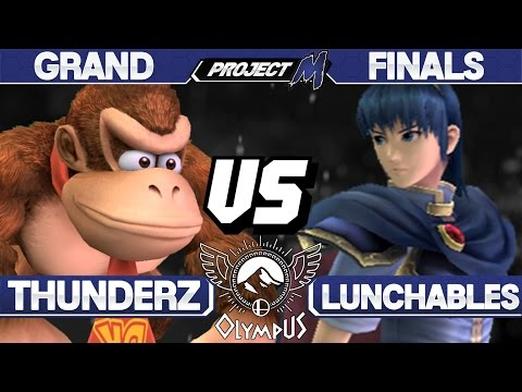 Olympus - ThundeRzReiGN (Donkey Kong) vs Lunchables (Marth) - PM Grand Finals - Project M