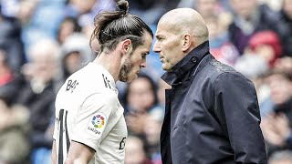 Why do Zinedine Zidane and Gareth Bale hate each other?  Oh My Goal
