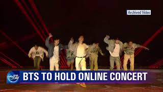 BTS TO HOLD ONLINE CONCERT (News Today) l KBS WORLD TV 211022