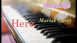 #hero - #mariahcarey   backing track (piano karaoke) เนื้อเพลง by : #piano13channelthere's a heroif you look inside your heartyou don't have to be afrai...