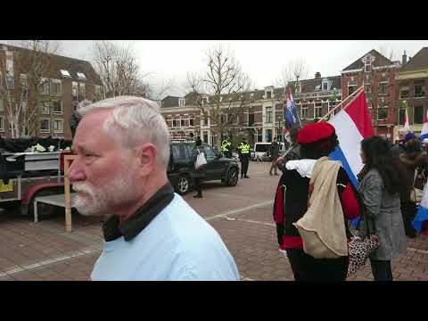 PEGIDA demo., Nijmegen, 26 november 2017