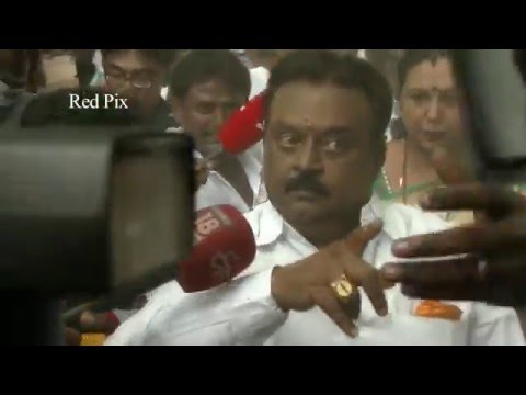 Tamil Nadu Election 2016 - Vijayakanth Getting Angry At Polling Booth - Vijayakanth Comedy  -~-~~-~~~-~~-~- Please watch: