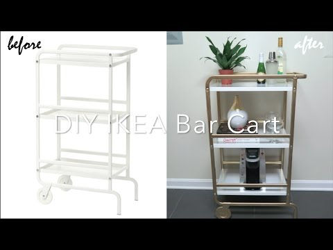 Ikea Hack Diy Bar Cart