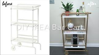 IKEA Hack | DIY Bar Cart