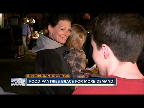 Tampa Bay food pantries prepare for increased demand amid government shutdown