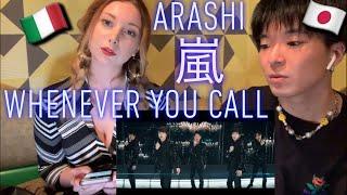 Download Mp3 イタリア人にarashi - Whenever You Call 見せてみた! 1番イケメンは? Italian Reaction To Jpop  嵐 【海外