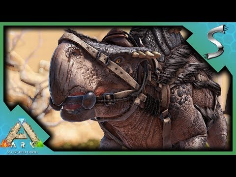 MORELLATOPS AND THORNY DRAGON TAMING! MANTIS ATTACK! | Ark: Scorched Earth [Gameplay E2]