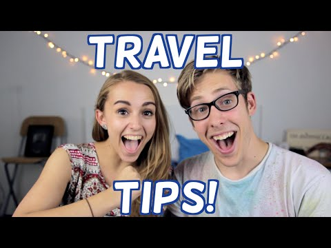 Travel Tips with Evan Edinger | Hannah Witton