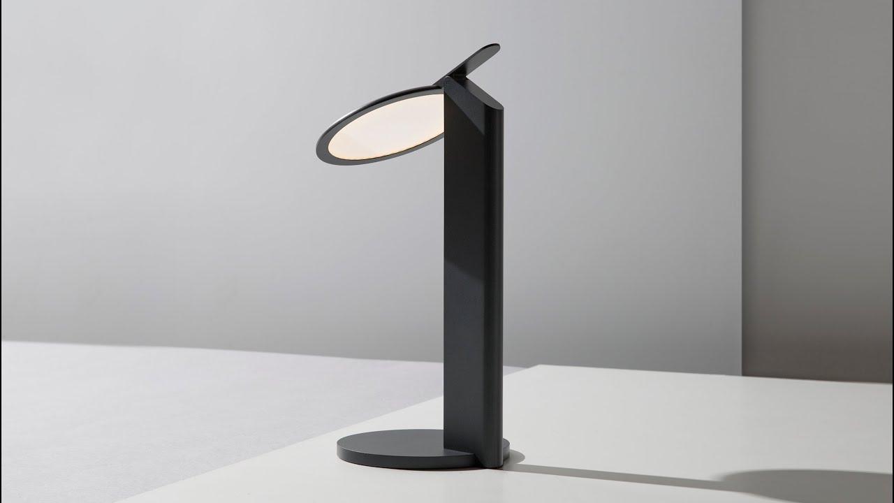 Simon Frambach S Nod Lamp Is Based On Pop Up Car Headlights Youtube