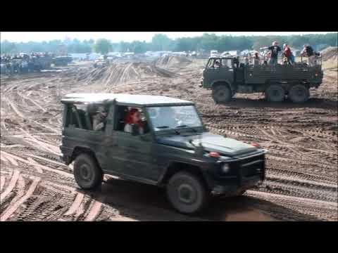 Zlot pojazdów militarnych Borne Sulinowo 2017