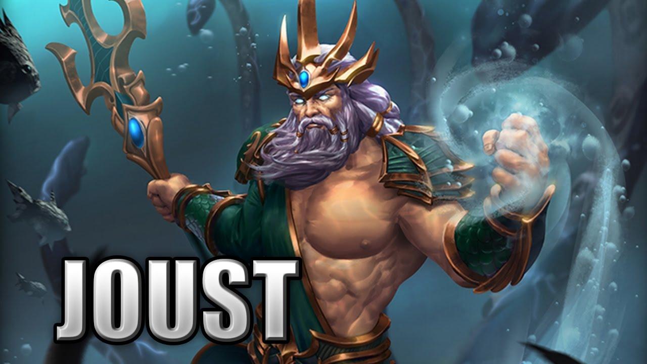 Poseidon Damage Build The Kraken Leaves No Survivors Joust