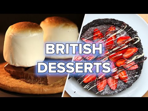 10 British Desserts We Should All Be Making • Tasty