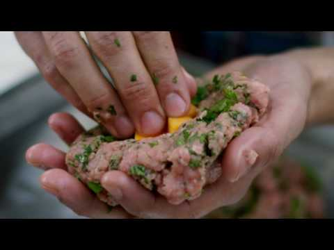 Stuffed Butterball Everyday Turkey Burger Taste Test