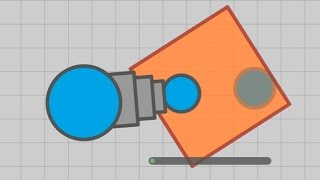 YELLOW ALPHA SQUARE! GIVES 4K SCORE! (Diep.io Sandbox Modding)