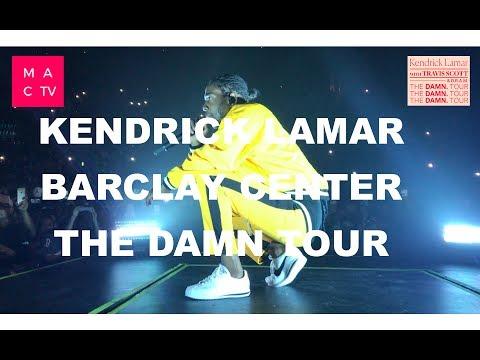Kendrick Lamar The DAMN Tour | Barclay Center | Live | Vlog #5