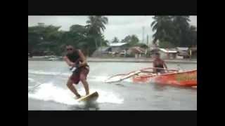Wakeboarding & Skurfing at Buenavista, Agusan del Norte...