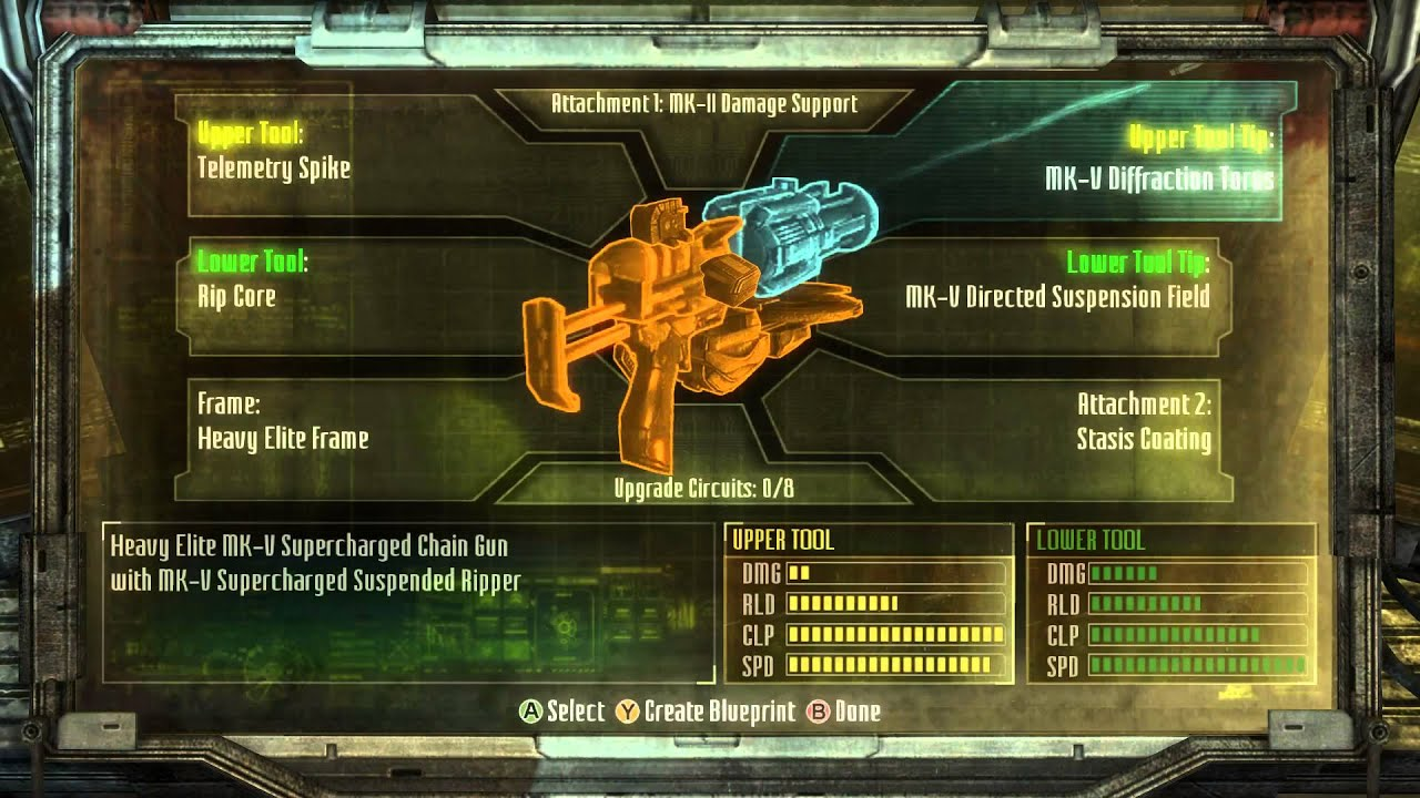 Dead space 3 comparing mk2 to mk5 to base components youtube malvernweather Choice Image