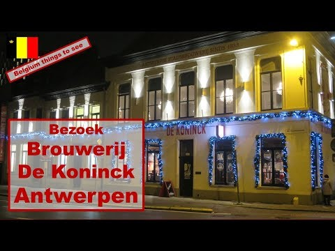 Belgium travel tip : visiting brewery De Koninck in Antwerp  #belgium