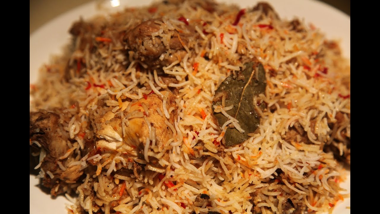 steps on how to make biryani in pakistan style