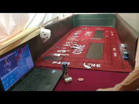 Craps Hacking Strategy| 2 Finger front GRIP| BIG MONEY !!!