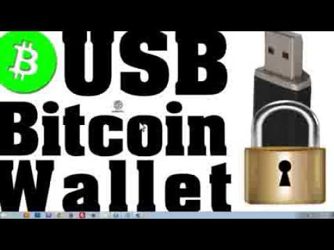 HOW TO  Store Bitcoin On USB Stick   Guide 240p