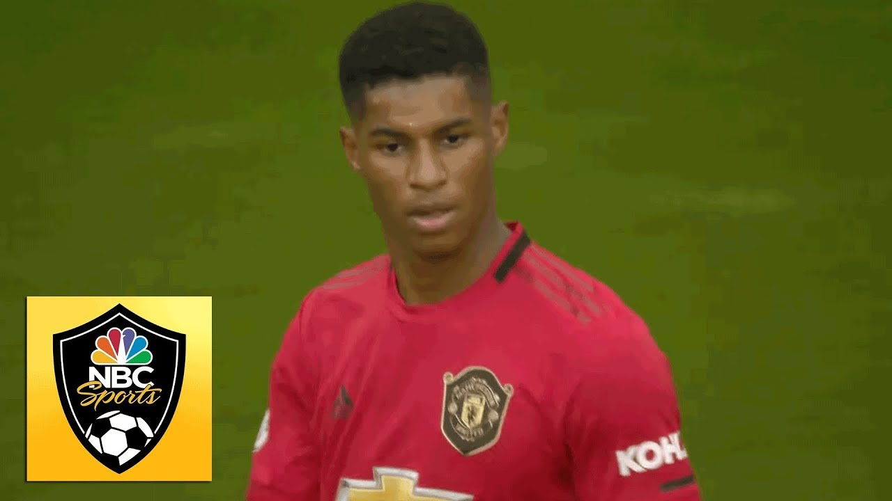 Marcus Rashford wins, scores penalty to give Man Utd lead v. Chelsea | Premier League | NBC Sports