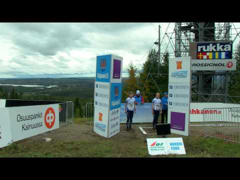 Nordic Orienteering Tour 2012 - Vuokatti - Naisten lähtö
