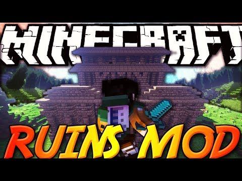 Minecraft ITA - Mod: NUOVI DUNGEON - Nave Affondata, Casa Abbandonata, Vulcano, Miniera