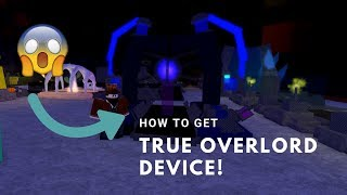 Roblox Miner's Haven (TRUE OVERLORD DEVICE SETUP!!!) *NEW*
