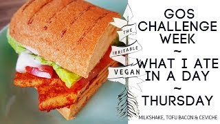 Vegan low FODMAP / What I ate in a day/ GOS Challenge Week / Thursday