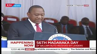 Uhuru: More Investment and jobs expected when Naivasha business park commissioned | #MadarakaDay2019