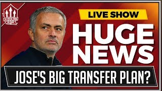 Mourinho's Huge Transfer Plan Begins! Manchester United Transfer News