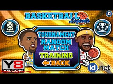 Basketball Legends By Y8 Com Gameplay