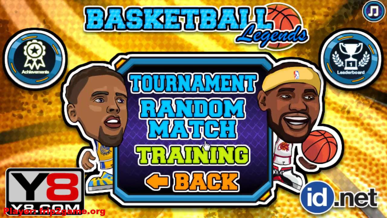 Basketball Legends By Y8 Com Gameplay Youtube