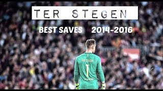 Marc-Andre Ter Stegen - Destined To Be The Best | Ultimate Best Saves 2014 - 2016 (HD)