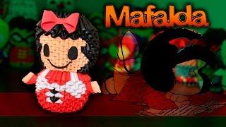 Mafalda 3D Origami | Pekeño ♥