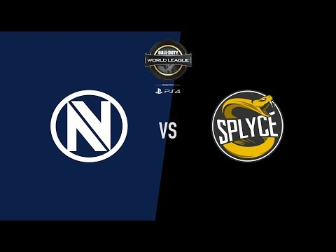 Splyce vs  Team EnVyUs | CWL Pro League | Stage 2 | Week 2 Day 1